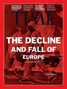 TIME MAGAZIN Titelblatt